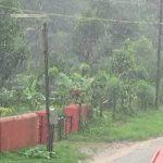 ಕೊಡಗು ಜಿಲ್ಲೆಯಾದ್ಯಂತ ಧಾರಾಕಾರ ಮಳೆ
