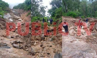 Nandi Hill Landlslide Brahmagiri