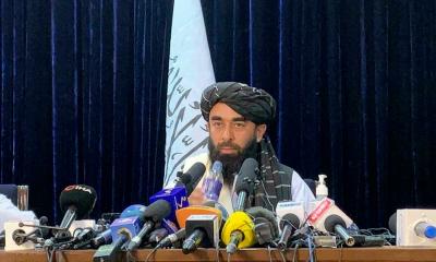 Zabihullah Mujahid pressmeet