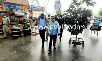 Zameer Ahamed leaves for New Delhi