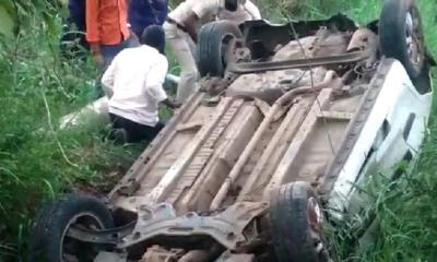 Car accident in Belagavi District Karnataka