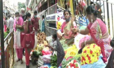 varamahalakshmi festival Busy Market in Bengaluru