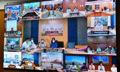 Covid Vaccination campaign meeting Karnataka 1