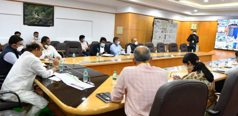 Covid Vaccination campaign meeting Karnataka 4